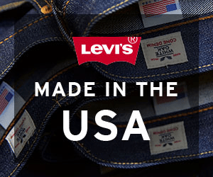 (R) Levi's NDO 3NOO MADE IN THE USA