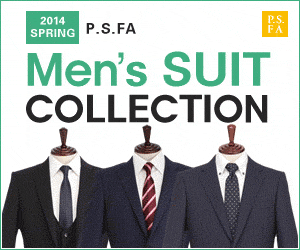 PS. FA 2014 SPRING P.S.FA Men's SUIT COLLECTION