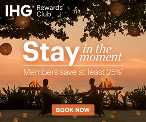 IHG Rewards Club in the moment Members save at least 25% BOOK NOW