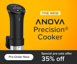 1290 THE NEW ANOVA Precision Cooker Special pre-sale offer Pre-Order Now 35% off