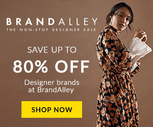 BRA N D ALLEY THE NON.STOP DESIGNER SALE SAVE UP TO 80% OFF Designer brands at BrandAlley SHOP NOW