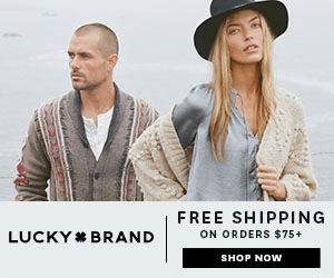 FREE SHIPPING LUCKY BRAND ON ORDERS $75+ SHOP NOW
