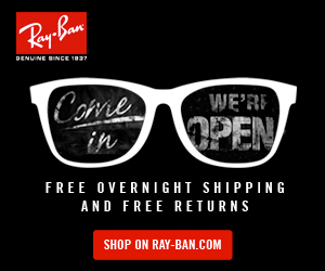 DENUINE SINCE 1937 Came WE'RI PEN in FREE OVERNIGHT SHIPPING AND FREE RETURNS SHOP ON RAY-BAN.COM