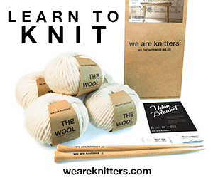 LEAR N TO K NIT we are knitters THE WOOL THE 73Rande THE WOOL WOOL weareknitters.com