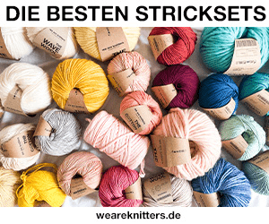 DIE BESTEN STRICKSETS WAVE weareknitters.de THE
