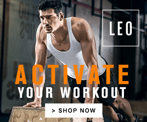 290 LEO AST PATE YOUR WORKOUT >SHOP NOW