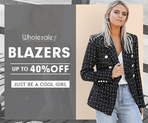 Wholesale7 BLAZERS UP TO 40%OFF JUST BE A COOL GIRL