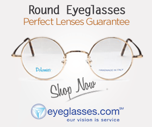 Round Eyeglasses Perfect Lenses Guarantee Dlome Shop Now eyeglasses.com our vision is service