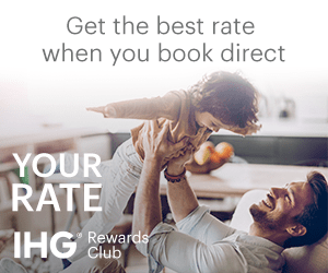 Get the best rate when you book direct YOUR RATE IHG Rewards Club