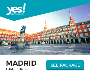 yes! CETANAYS.COM MADRID FLIGHT HOTEL SEE PACKAGE