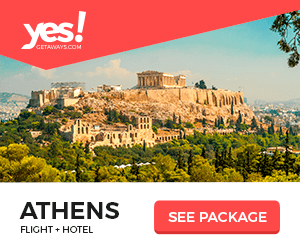 yes! CETANAYS.COM ATHENS FLIGHT HOTEL SEE PACKAGE