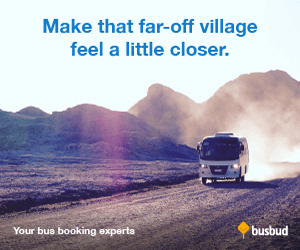 Make that far-off village feel a little closer. busbud Your bus booking experts