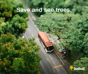 Save and see trees. busbud