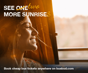 SEE ONEUe MORE SUNRISES Book cheap bus tickets anywhere on busbud.com