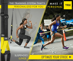 THE TRAINING SYSTEM THAT'S MAKE IT TRX PERSONAL PERSONALIZED FOR YOU TRX SUSPENDED OPTIMIZE YOUR STRIDE LUNGE
