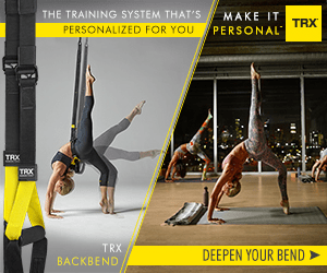 THE TRAINING SYSTEM THAT'S MAKE IT TRX PERSONAL PERSONALIZED FOR YOU TRX TROX TRX BACKBEND DEEPEN YOUR BEND