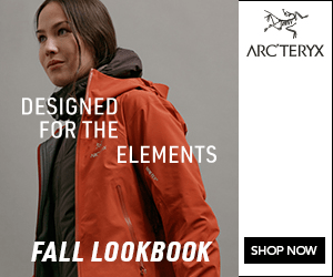 ARCTERYX DESIGNED FOR THE ELEMENTS FALL LOOKBOOK SHOP NOW