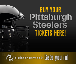 BUY YOUR Pittsburgh Steelers TICKETS HERE! Gets you in! ticketnetwork