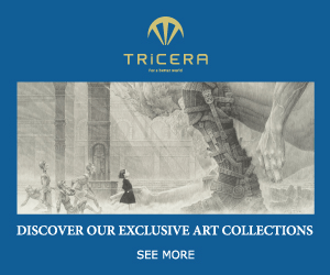 TRICERA DISCOVER OUR EXCLUSIVE ART COLLECTIONS SEE MORE