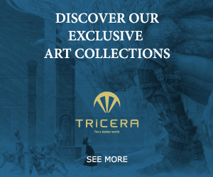 DISCOVER OUR EXCLUSIVE ART COLLECTIONS TRICERA Fers beter wor SEE MORE