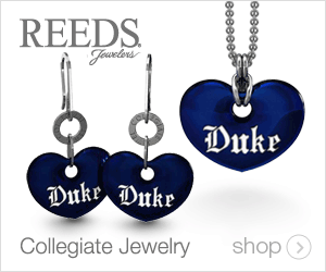REEDS Fawelers Dukr Duke Dukr Collegiate Jewelry shop