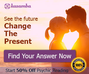 kasamba See the future Change The Present Find Your Answer Now BOIKRACIE 100 % Start 50% Off Psychic Reading