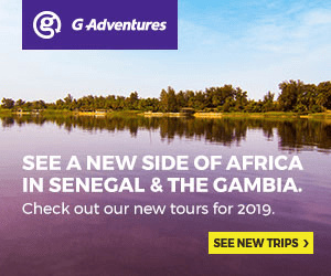 GAdventures SEE A NEW SIDE OF AFRICA IN SENEGAL & THE GAMBIA. Check out our new tours for 2019. SEE NEW TRIPS