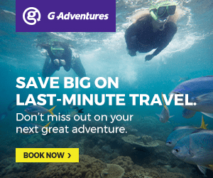 GAdventures SAVE BIG ON LAST-MINUTE TRAVEL. Don't miss out on your next great adventure. BOOK NOW