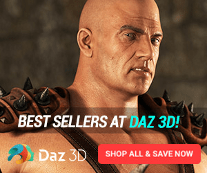 BEST SELLERS AT DAZ 3D! Daz 3D SHOP ALL & SAVE NOW