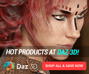 HOT PRODUCTS AT DAZ 3D! Daz 3D SHOP ALL & SAVE NOW