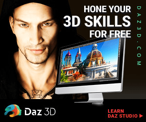 HONE YOUR 3D SKILLS FOR FREE Daz 3D LEARN DAZ STUDIO DA Z 3 D C O M