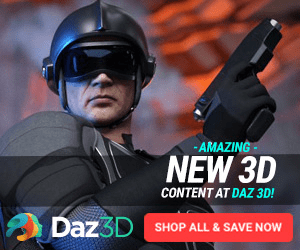 -AMAZING NEW 3D CONTENT AT DAZ 3D! DAZ3D SHOP ALL & SAVE NOW