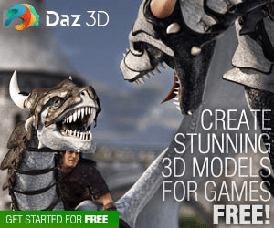 79 Daz 3D CREATE STUNNING 3D MODELS FOR GAMES FREE! GET STARTED FOR FREE