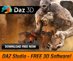 Daz 3D DOWNLOAD FREE NOW DAZ Studio FREE 3D Software!