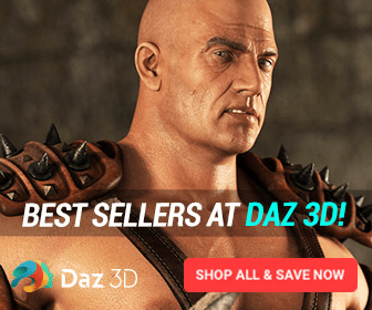 BEST SELLERS AT DAZ 3D! Daz 3D SHOP ALL& SAVE NOW