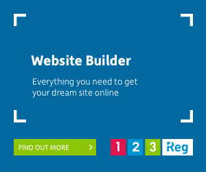 Website Builder Everything you need to get your dream site online L 1 23 Reg FIND OUT MORE