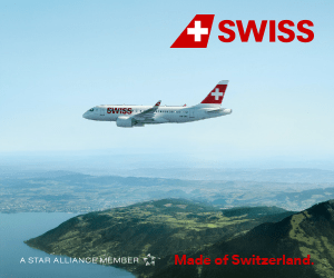 SWISS SWISS Made of Switzerland A STAR ALLIANCE MEMBER