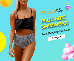 Modlily PLUS SIZE SWIMWEAR Free Shipping Worldwide shop>