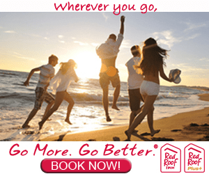 Wherever you go Go More. Go Better BOOK NOW! Red Red Roof Roof Plus+