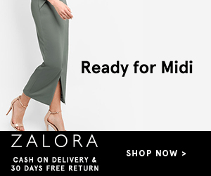 Ready for Midi ZALORA SHOP NOW> CASH ON DELIVERY & 30 DAYS FREE RETURN