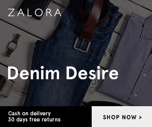 ZALORA Denim Desire Cash on delivery 30 days free returns SHOP NOW>