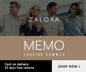ZALORA MEMO CHASING SU M MER Cash on delivery 30 days free returns SHOP NOW