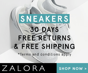 SNEAKERS 30 DAYS FREE RETURNS & FREE SHIPPING Terms and conditions apply ZALORA SHOP NOW