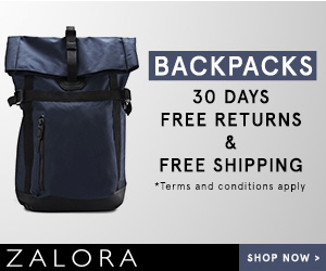 BACKPACKS 30 DAYS FREE RETURNS & FREE SHIPPING *Terms and conditions apply ZALORA SHOP NOW