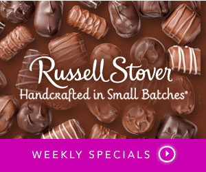 Russell Stover Handcrafted in Small Batches WEEKLY SPECIALS