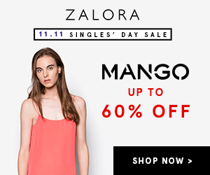 ZALORA 11.11 SINGLES' DAY SALE MANGO UP TO 60% OFF SHOP NOW