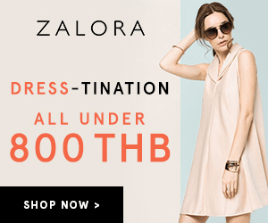 ZALORA DRESS-TINATION ALL UNDER 800 THB SHOP NOW