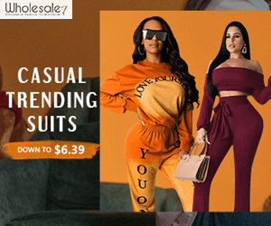 Wholesale CASUAL TRENDING SUITS DOWN TO $6.39