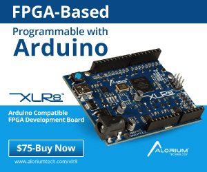 FPGA-Based Programmable with Arduino XLR XLRE Arduino Compatible FPGA Development Board $75-Buy Now ALORIUM TECH www.alorkumtech.com/kirs