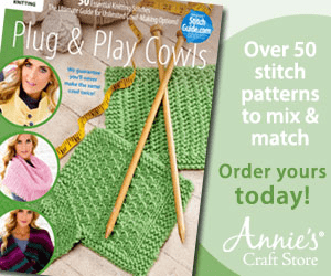 roe Plug&Play Cowls Over 50 stitch patterns to mix & match Order yours today! Annies Craft Store